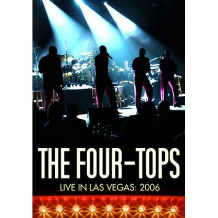 Four Tops: Live in Las Vegas (DVD) - Halloween Weekend Las Vegas 2017