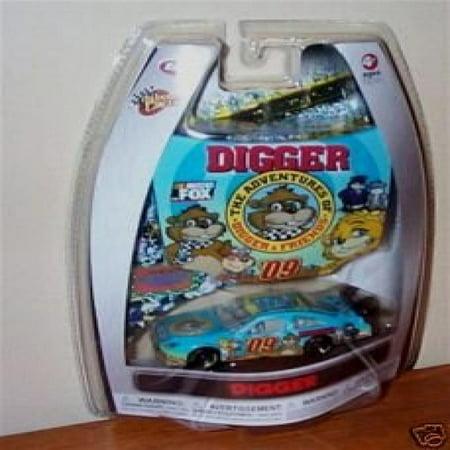 Winners Circle Cars (The Adventure of Digger & Friends 1/64 Scale Car & Bonus Magnet 1/24 Scale Hood Winners Circle 2009)