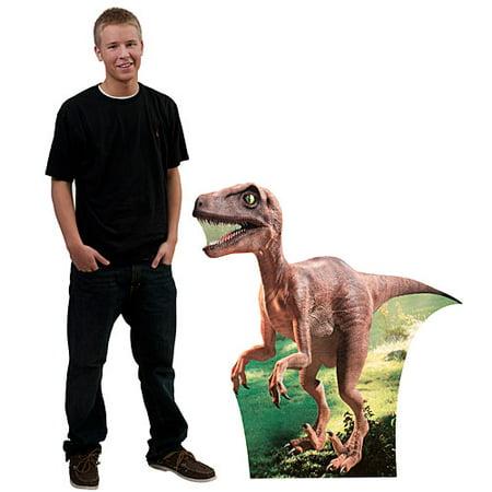 3 ft. Velociraptor Dinosaur Standee](Cardboard Dinosaur)