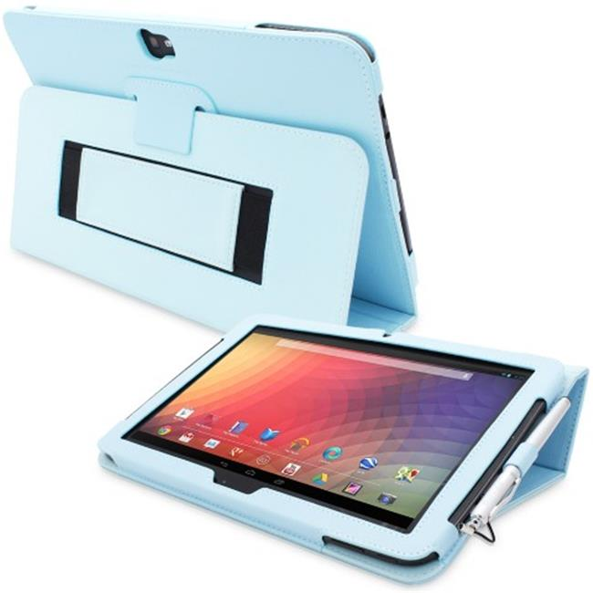 Snugg Nexus 10 Case Cover and Flip Stand Leather