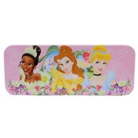 Disney Princess Floral Foreground and Castle Background Pencil Box