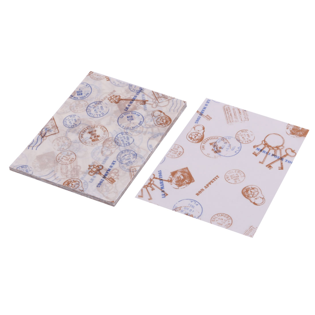 Home Party Cookies Sugar Chocolate Holder DIY Packaging Wrapping Paper 100 Pcs