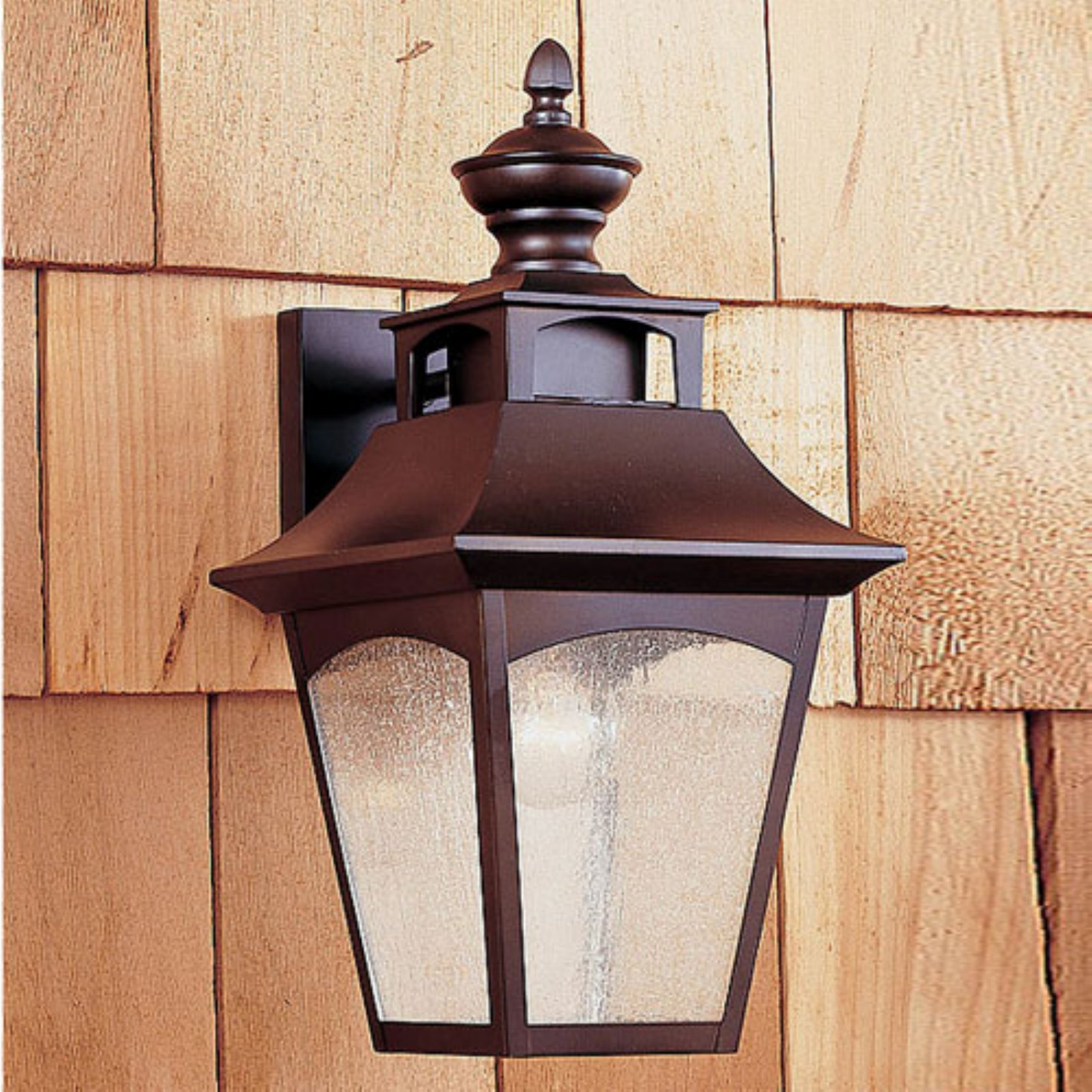 Feiss Homestead Outdoor Wall Lantern - 16H in. Oil Rubbed Bronze