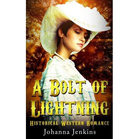 A Bolt of Lightning - Clean Historical Western Romance - - Lightning Bolt Makeup