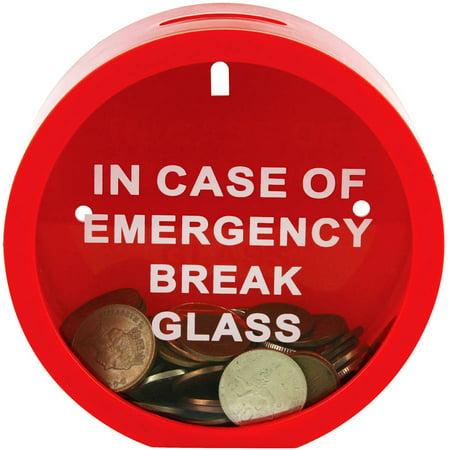 Fairly Odd Novelties Emergency Money Box, In Case Of Emergency Break (In Case Of Emergency Break Glass Box)