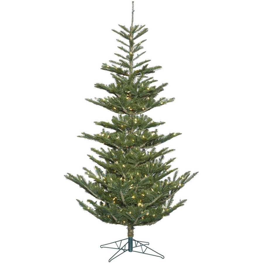 "Vickerman 5"" Alberta Spruce Artificial Christmas Tree with 200 Warm White LED Lights"