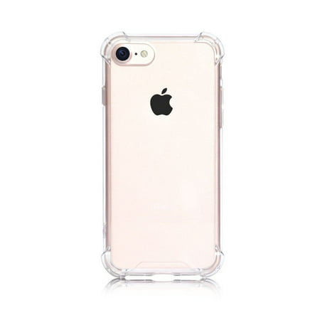 cheap for discount 0ed8d e263f iPhone 8 / 7 Case, Clear Anti-Scratch Soft Flexible Shock Absorption TPU  Technology Cover