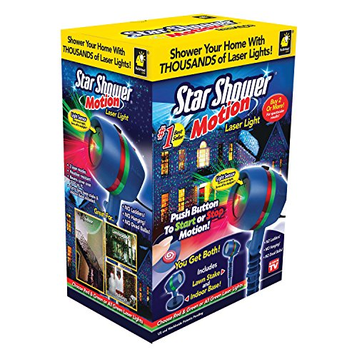 As Seen on TV Star Shower Laser Motion, Christmas Lights by Telebrands