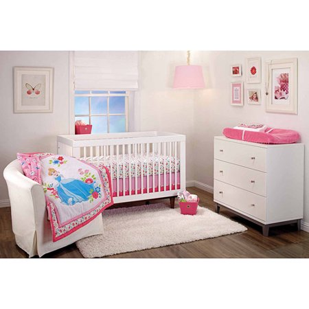 Disney Cinderella Crib Nursery Bedding