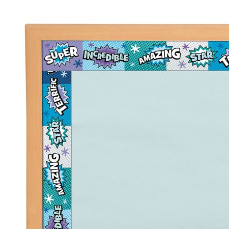 IN-13750682 Superhero Bulletin Board - Printable Bulletin Board Borders