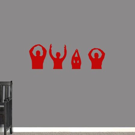 Sweetums OHIO People Wall Decal 36-inch x 12-inch