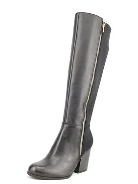 ee72ba5b1a9 Product Image Bar III Pedra Round Toe Leather Knee High Boot