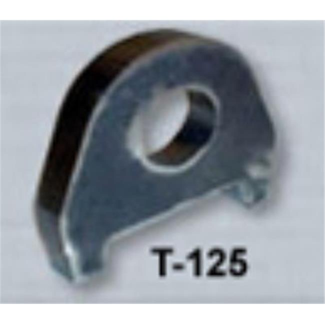 M.O.R.E. T-125 Tabs, 0.5 In. Thick, 1 In. Hole, Clevis Mount