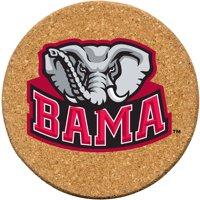 Set of Six Cork Coasters, University of Alabama