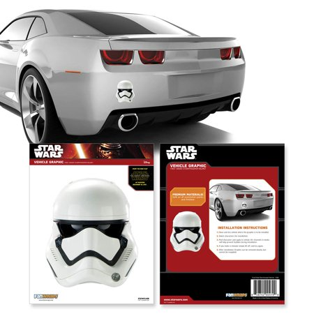 Star Wars Episode VII First Order Stormtrooper Helmet Decal](Cheap Stormtrooper Helmet)