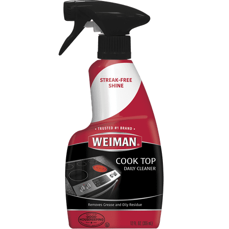 Weiman Ceramic Gl Cooktop Cleaner 12 Ounce Daily Use Professional Home Kitchen And Polish On Induction Gas Portable