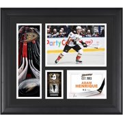"""Adam Henrique Anaheim Ducks Framed 15"""" x 17"""" Player Collage with a Piece of Game-Used Puck"""
