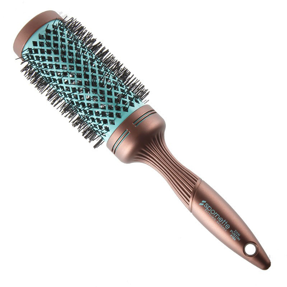 Spornette Ion Fusion Aerated Hair Brush, Round, 3 Inch