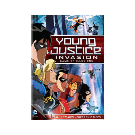 Young Justice Invasion Game of Illusions: Season 2, Part 2 (DVD) - Robin Young Justice