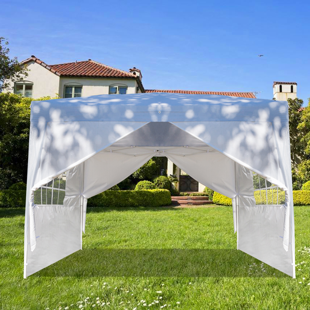 Gazebo 10 X10 Outdoor Canopy Tent Clearance Portable