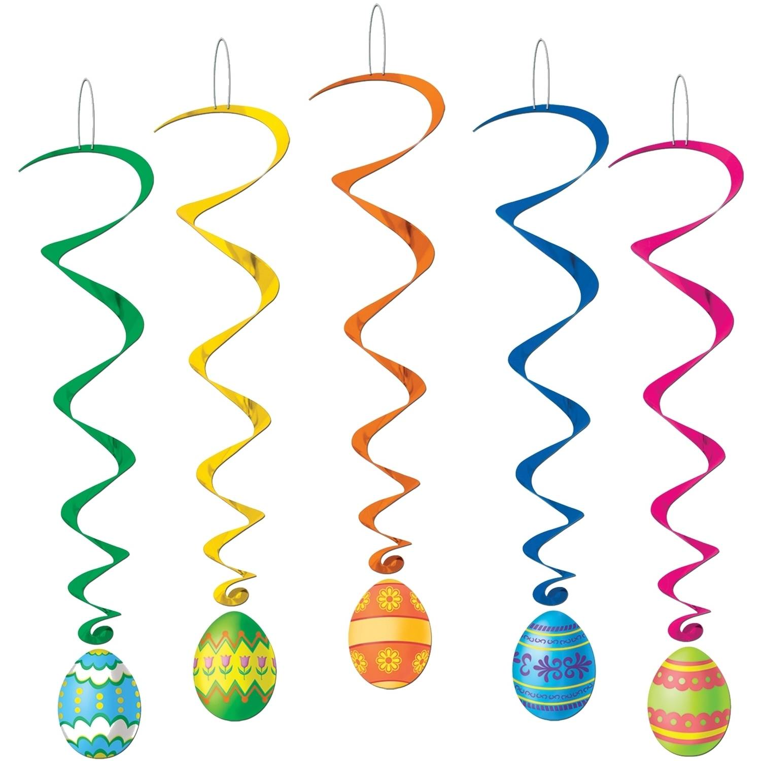 Easter Egg Whirls Halloween Decoration