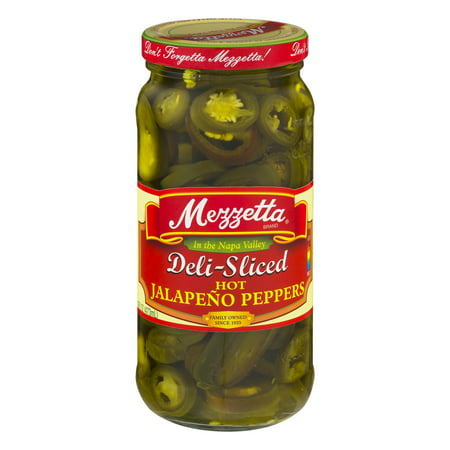 Rtu Hot Pepper - Mezzetta Deli-Sliced Hot Jalapeño Peppers, 16 Oz