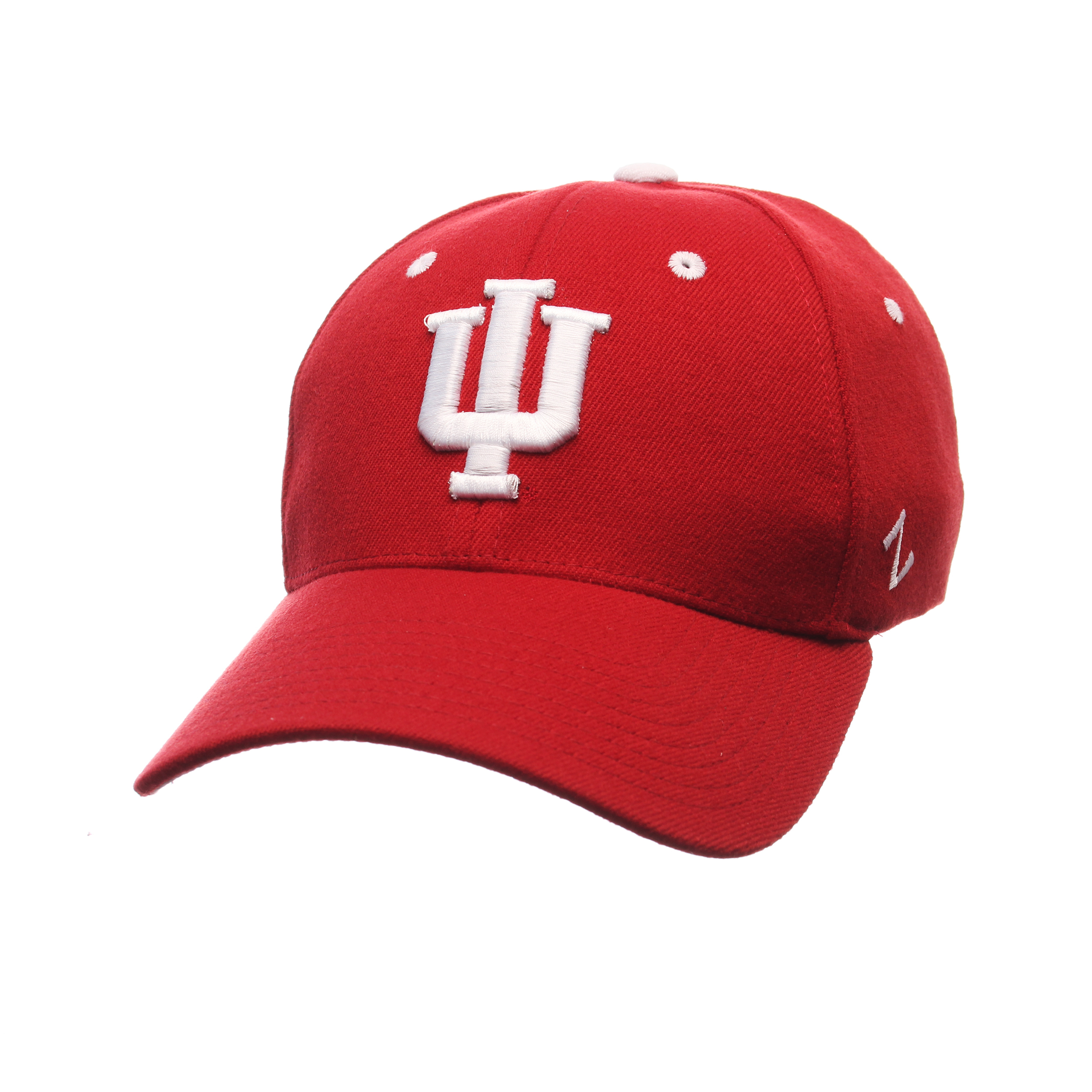 Indiana Hoosiers ZH Stretch Hat (Maroon) S