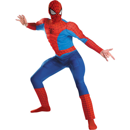 Spider-Man Rental Quality Adult Halloween Costume