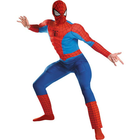 Spider-Man Rental Quality Adult Halloween Costume - Costume Rentals