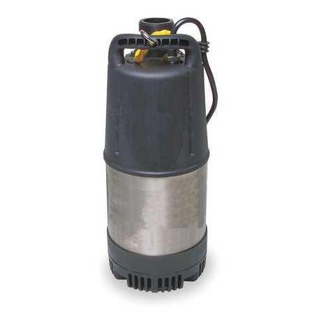 Dayton Sump Pump, 7/10 HP 4LA45