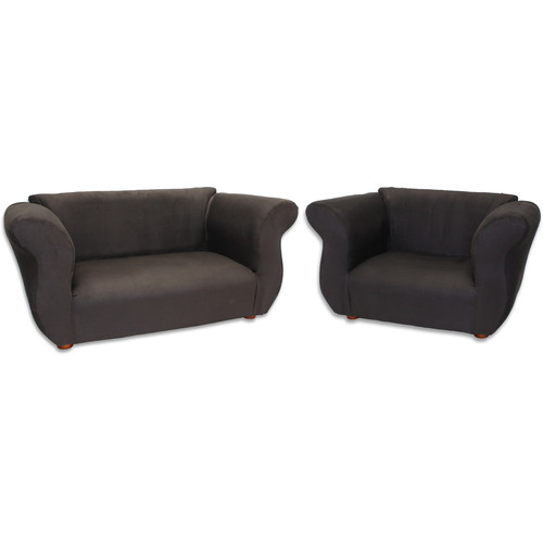 Keet Fancy 2 Piece Kids Sofa and Chair Set by Fantasy Furniture