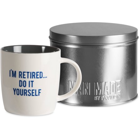 Pavilion im retired do it yourself 12oz coffee cup mug tin pavilion im retired do it yourself 12oz coffee cup mug solutioingenieria