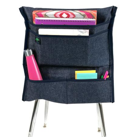 Aussie Pouch Chair Pocket Organizer, 17-1/2 Inches, Navy Trim