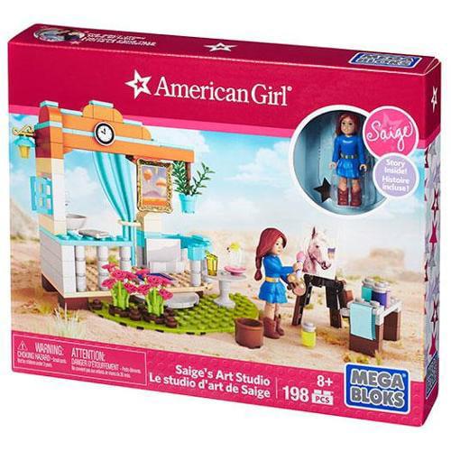 American Girl Saige's Art Studio Set Mega Bloks 31929