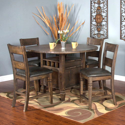 Gracie Oaks Calina Counter Height Dining Table