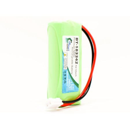 2x Pack Compatible VTech 6041 Battery - Compatible for VTech Cordless Phone Battery (700mAh, 2.4V, NI-MH) - image 3 de 4