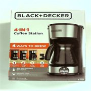 BLACK+DECKER 5 Cup 4-in-1 Station Coffeemaker - Stainless Steel CM0750S