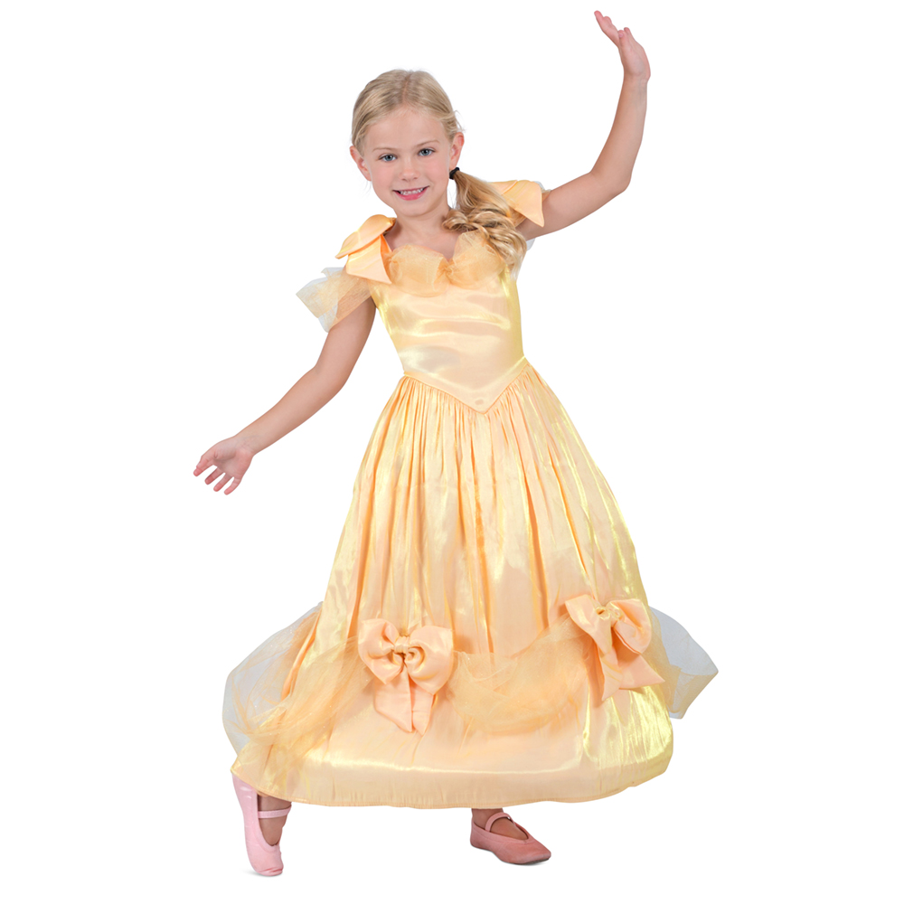Girls Shades of Yellow Princess Dress Costume