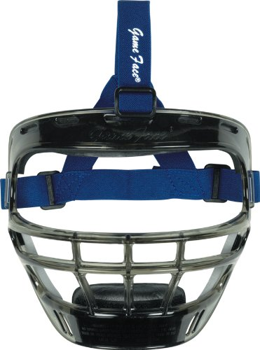 Smoke Game Face Mask-Size:Large,Strap Color:Royal Blue by Game Face