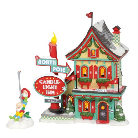 Christmas Carols North Pole - Dept 56 North Pole Series 6002292 Welcoming Christmas 2018