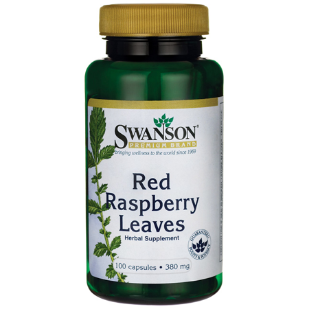 (Swanson Red Raspberry Leaves 380 mg 100 Caps)
