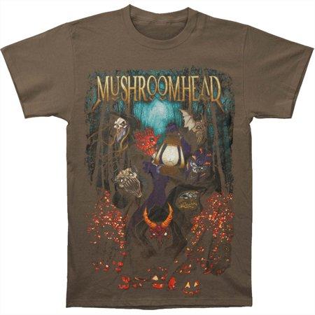 Mushroomhead Men's  Halloween 2016 Tour Army Green T-shirt Army](Halloween Underground Tour)