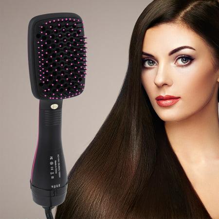 Hair Dryer Brush Comb, Paddle Brush,2 in 1 Multifunctional  Anion Hair Dryer Brush Comb Styler Hairdressing Tool