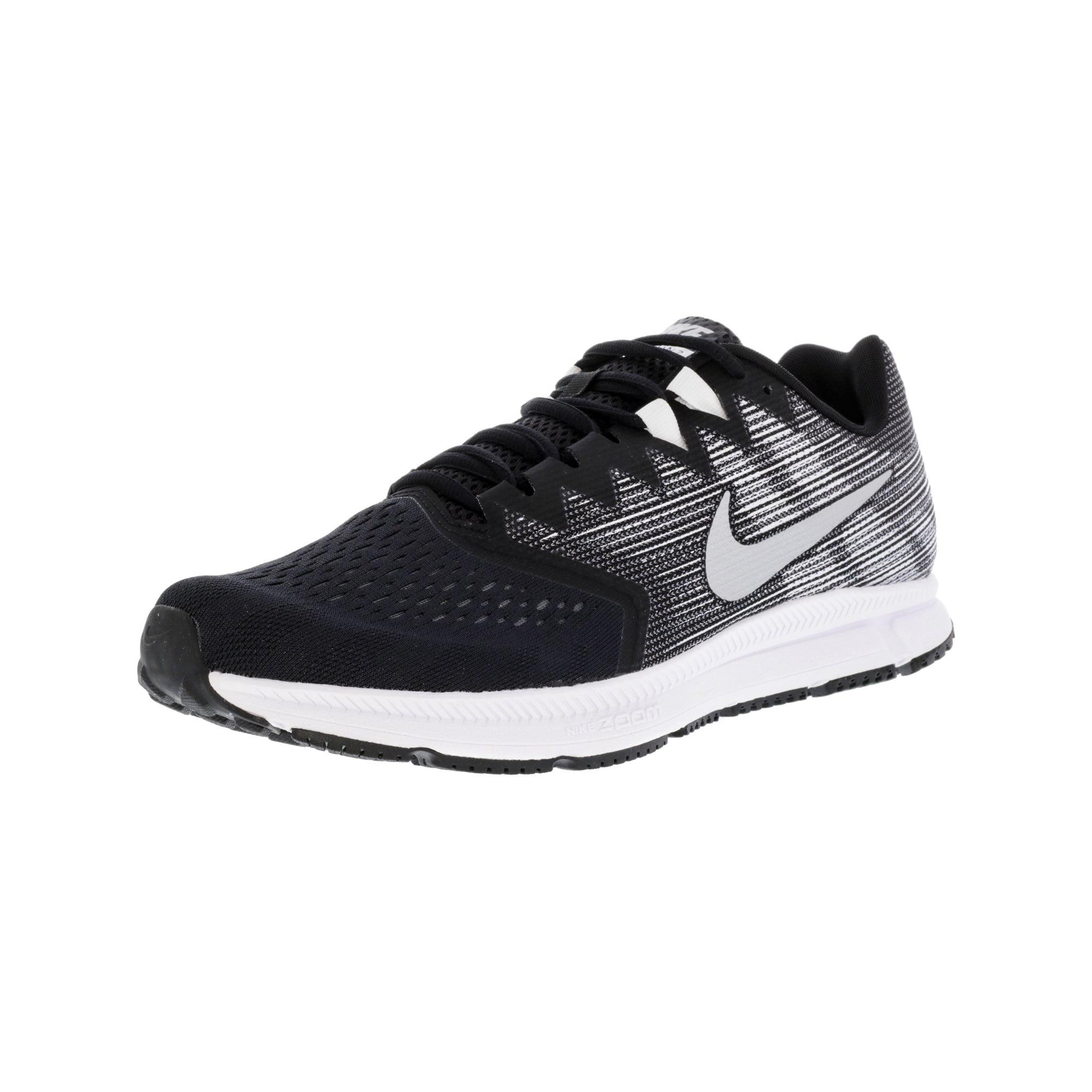 5366e4521745a Nike Men s Zoom Span 2 Gunsmoke   Total Crimson - Black Ankle-High Running  Shoe 9.5M