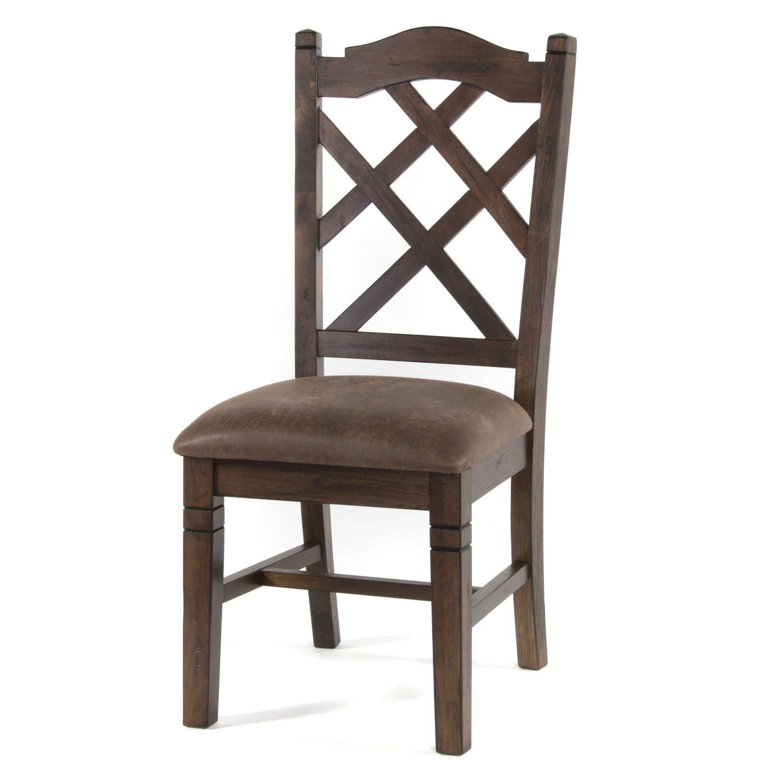 Sunny Designs Savannah Double Crossback Dining Chair