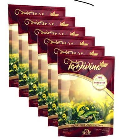 6 weeks supply of Popular vida divina detox weight loss Tea (Best 1 Week Detox)