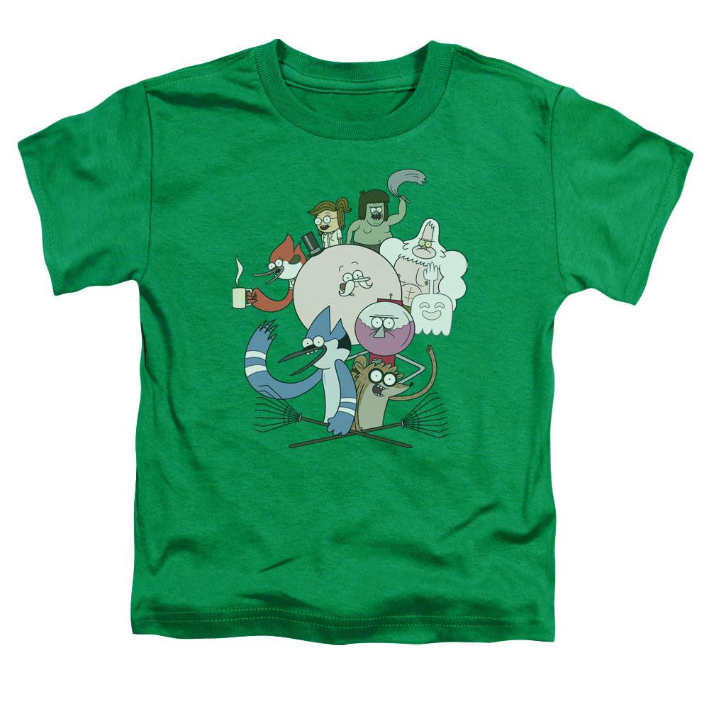 Regular Show Regular Cast Little Boys Toddler Shirt