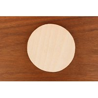"WOODNSHOP 10pcs 3.5"" (wide) X 1/8"" inch WOODEN CIRCLES PLAIN UNFINISHED WOOD CRAFT FOR DISKS,TAGS,EARRINGS,WEDDING,PLAQUE,JEWELRY DIY"