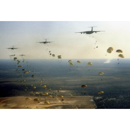 Canvas Print Members of the U S  Army 1st and 2nd Battalions, 504th  Parachute Infantry Regiment, 82nd Airborne Di Stretched Canvas 10 x 14