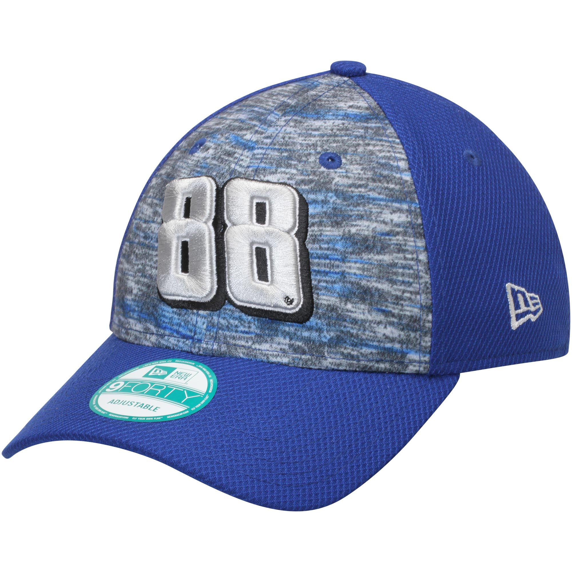 Dale Earnhardt Jr. New Era Sub Mixer 9FORTY Adjustable Hat - Gray/Royal - OSFA